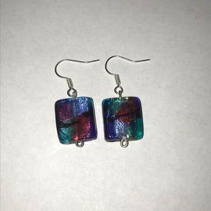 Beautiful colorful earrings
